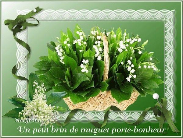 Mes creations 1er mai le muguet - Photos muguet porte bonheur ...
