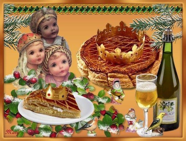Mes creations de epiphanie - Epiphanie galette des rois ...
