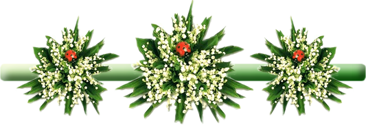 Mes creations 1er mai le muguet page 2 - Bouquet de muguet photo ...