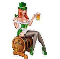 Les voeux de St Patrick Patrick